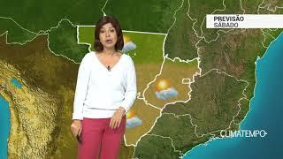 Previsão Centro-Oeste – Tempo abre em GO e DF