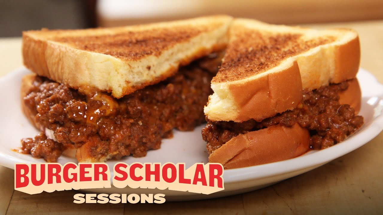 Download How to Make a Sloppy Joe Cheeseburger | Burger Scholar Sessions