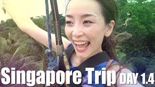 Singapore Trip Day1.4 [English Subs] - AsahiSasaki Thumbnail