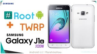 Root and install TWRP Recovery SAMSUNG GALAXY J1 (6) SM-J120W 6.0.1