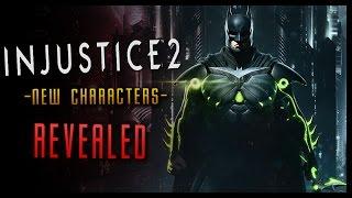 INJUSTICE 2 NEWS! Bane Robin Poison Ivy CONFIRMED + Story Details