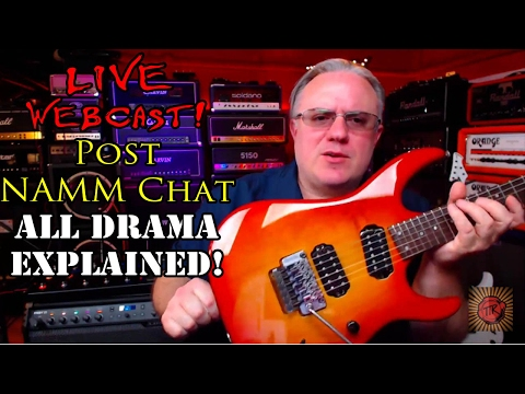 What really happened at Chapman Guitars NAMM 2017? TTK LIVE