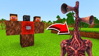 Minecraft : HOW TO SUMMON SIRENHEAD!(Ps3Xbox360PS4XboxOnePEMCPE)