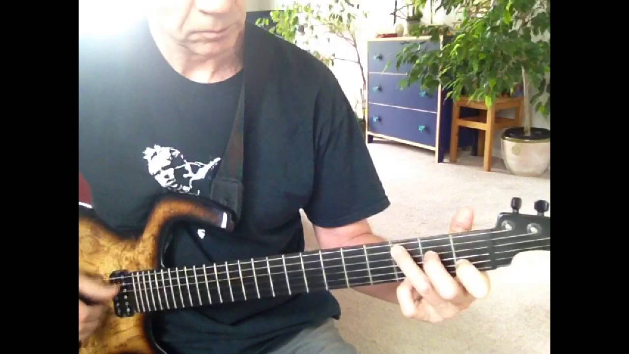 Video Killed The Radio Star Solo Guitar Cover Youtube