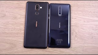 Nokia 7 Plus vs Nokia 8 - Speed & Camera Test!