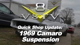 V8 Speed & Resto Shop Minute:  1969 Camaro Suspension Upgrades (not install)