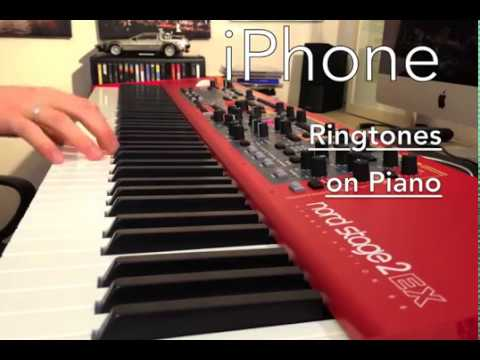 Apple iPhone / iOS - Ringtones // BEST OF - on Piano // Original Sounds @ NORD Stage 2 EX88