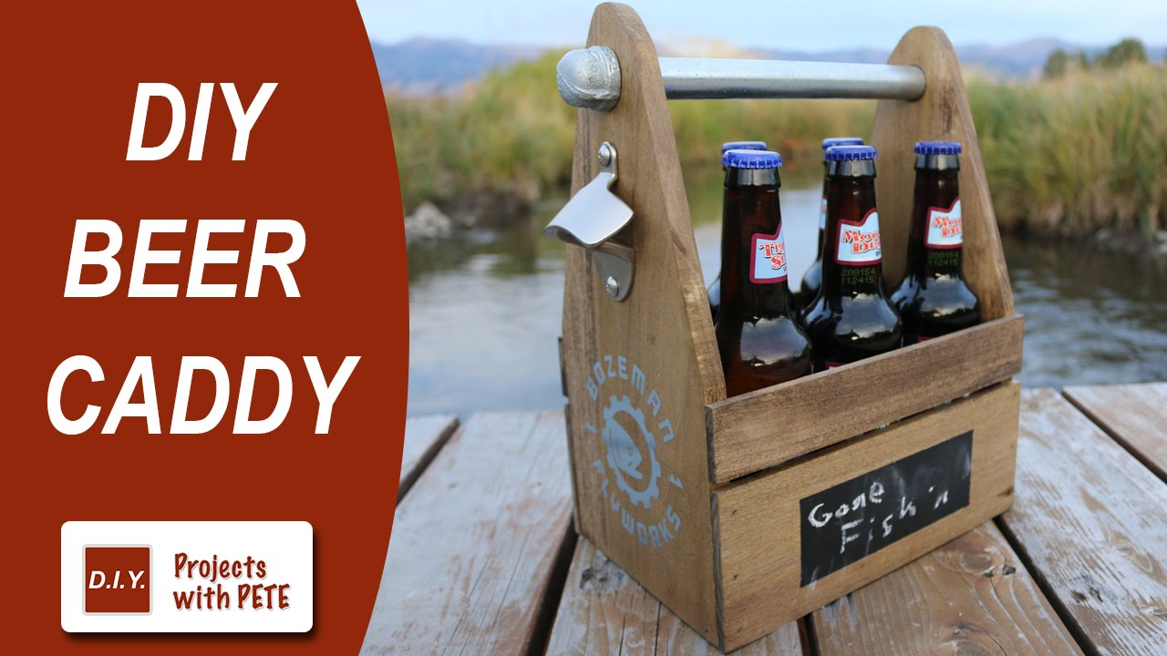 How To Make A Beer Caddy Diy Six Pack Carrier