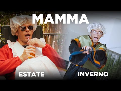 MAMMA - ESTATE VS INVERNO - iPantellas & Tommy Cassi