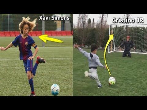 6 أطفال سيكونون نجوم كرة قدم عالمية في المستقبل - انظر كيف يلعبون