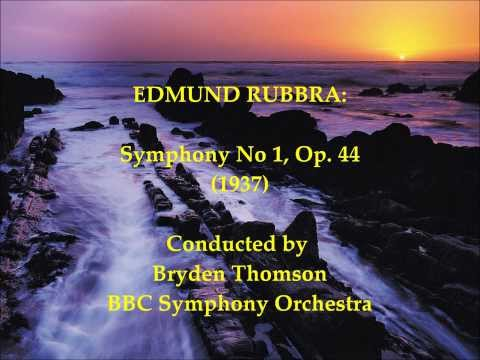 Edmund Rubbra: Symphony No 1, Op. 44 (1937) [Thomson-BBC SO]