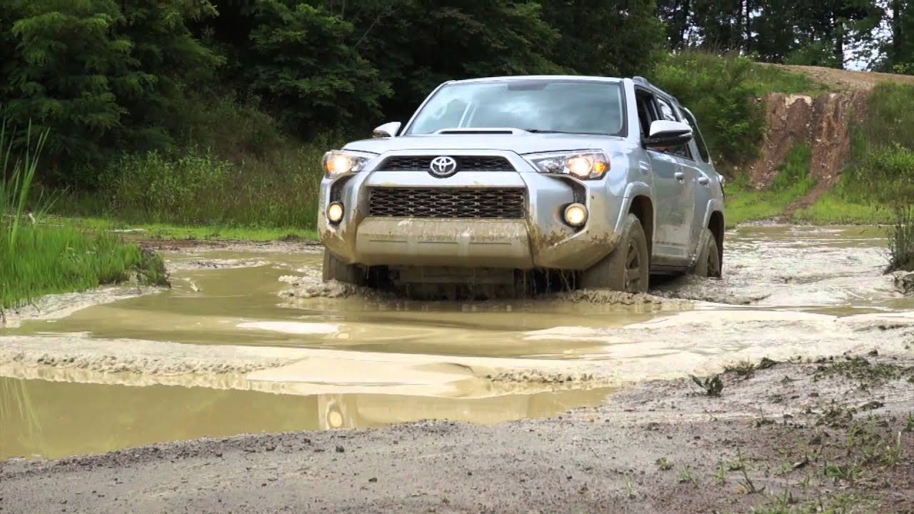 Off Road With The 2014 Toyota 4runner Youtube