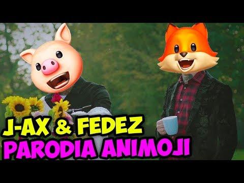 J-AX & Fedez - Sconosciuti da una vita (PARODIA ANIMOJI IPHONE X)