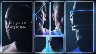 Repeat youtube video Pentatonix - Daft Punk (HD LYRICS VIDEO)