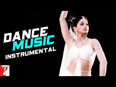 Dance Music Instrumental  Chandni  Sridevi  Rishi Kapoor  Vinod Khanna  Waheeda Rehman