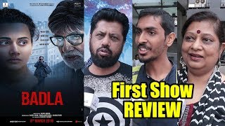 Badla Movie Review | First Day First Show Review | Amitabh Bachchan, Taapsee Pannu, Amrita Singh
