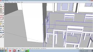 Sketchup #30 - Small House - Moving Objects Into Place - Brooke Godfrey