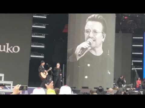 U2 Bono and the Edge at #Canada150 Canada...