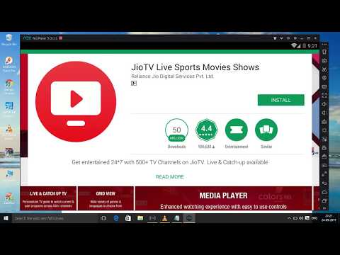Watch jio tv on pc without jio sim,on any network,100%working trick ,could work on rooted phone also
