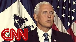 Trump on Pence: I don't question his loyalty at all