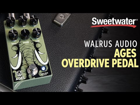 Walrus Audio Ages Overdrive Pedal Demo
