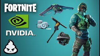 FORTNITE SKIN RARE AND LIMITED NVIDIA! Fortnite Counterattack Set