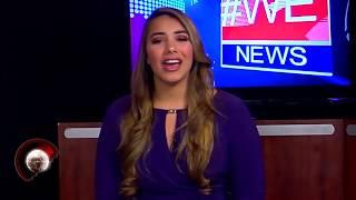 #WE NEWS - Kristina Abreu - News Anchor - Lead Story