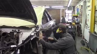 Кузовной ремонт. Камри и Камаз #2. Body repair.(Body repair. Кузовной ремонт автомобилей в гараже. Подробности на моем сайте. http://remontkuzova.blogspot.ru/ Комментарии..., 2017-03-10T15:24:31.000Z)
