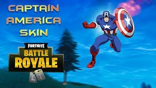 How to get Captain America Custom Skin Fortnite Working In Game