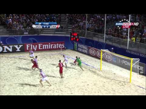 Tahiti vs USA - FIFA Beach Soccer World Cup 2013