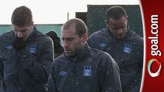Zabaleta finds Manchester weather a pain
