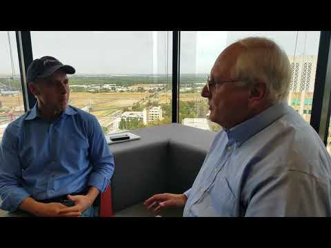 Gary Simon and Jack Crawford sit down to talk CleanTech
