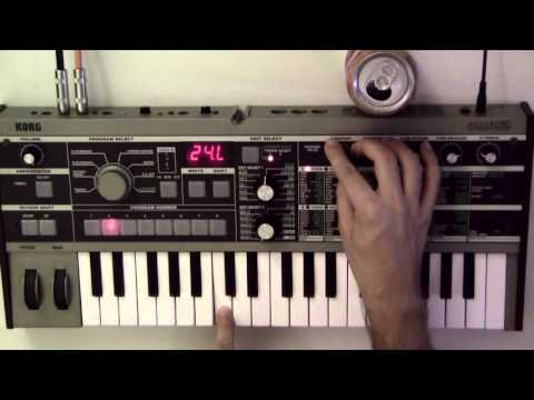 MicroKorg Sound Editing