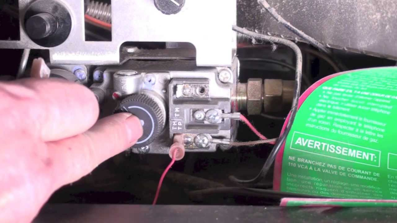 How The Fireplace Thermopile System Is Wired Youtube Maintenance Byp Switch Wiring Diagram