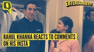 Rahul Khanna Reacts to Insta Comments | The Quint