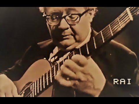 Andres Segovia : Live Concert ( Italian Television 1956 )