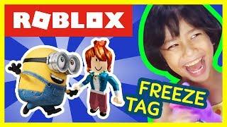 Ajuda! I ' m FROZEN-ROBLOX Minion Freeze tag