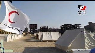 محافظة بني سويف تنشر ٧٥ خيمة إيواء لمواجهة الأزمات