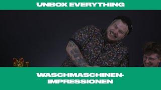 Unbox Everything: Waschmaschinen-DVD