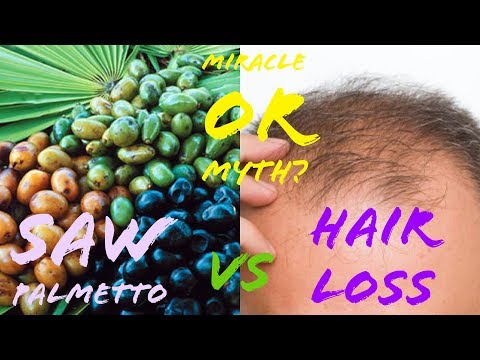 Saw Palmetto For Hair Loss: Does It Work?