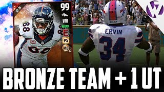 FULL BRONZE TEAM WITH ONE ULTIMATE TICKET vs. WWCD GAMING!!! - MADDEN 17 GAMEPLAY
