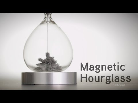 Magnetic Hourglass from ThinkGeek