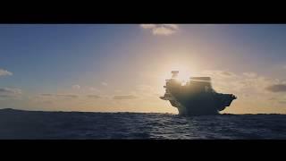 HMS Queen Elizabeth Gunnery Exercise