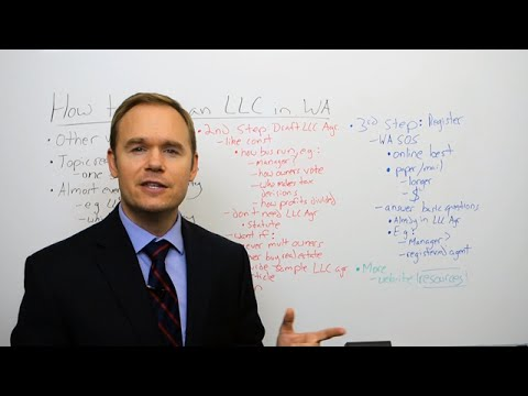 How to Form an LLC in Washington State