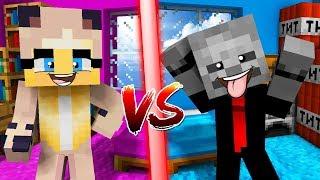 SICHERSTES MÄDCHEN ZIMMER VS. SICHERSTES JUNGS ZIMMER! ✿ Minecraft [Deutsch/HD]