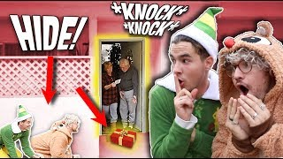 SURPRISING STRANGERS WITH FREE GIFTS AT THEIR DOORSTEP!!!