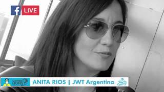 Anita Rios desde Cannes Lions 2016 en un minuto  Jurado de Film