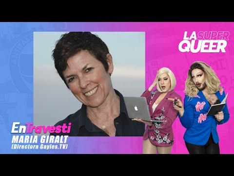 EnTravesti #4 con Maria Giralt, directora de Gayles.tv y del Área Social de Pride Barcelona.