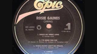 Rosie Gaines  -  I