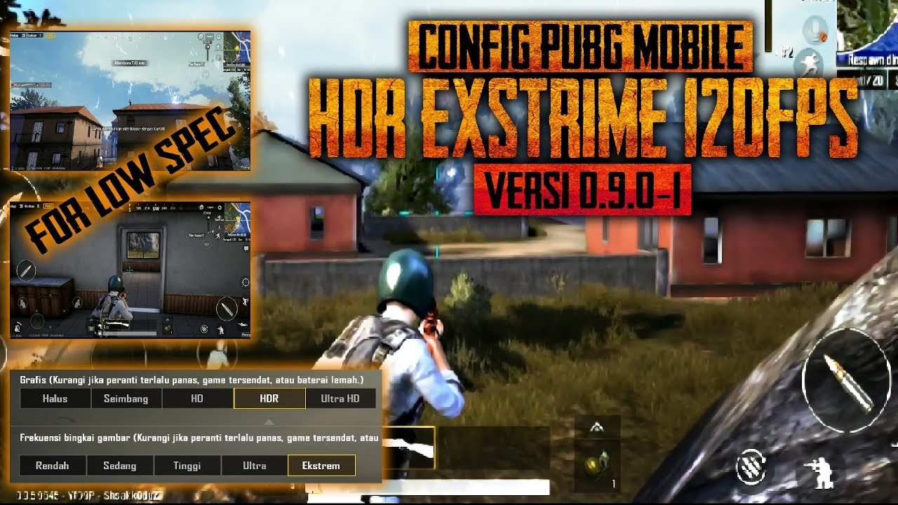 Hp Kentang Merapat!!! Config PUBG Mobile